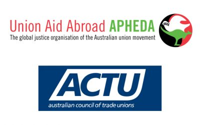 ACTU and APHEDA welcome ALP announcement on Timor Sea