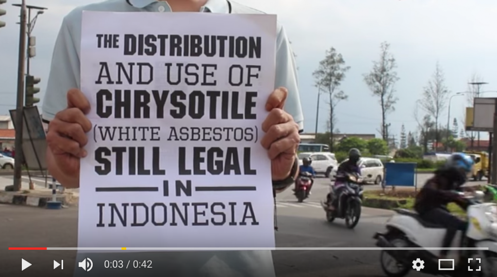 Ban Asbestos video