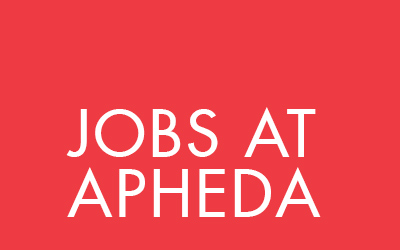 Jobs at APHEDA
