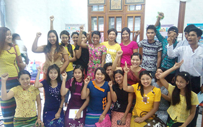 myanmar unions