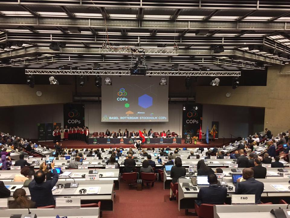 Rotterdam Convention 8th meeting kicks off-image