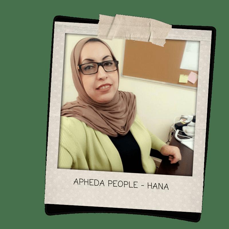 APHEDA People - Hana