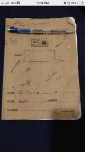 Zin Mar Oo's notebook