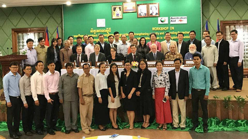 Cambodia asbestos workshop on strengthening capacity and expanding mechanisms towards an asbestos ban_all group