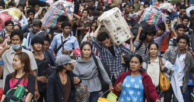 Myanmar Migrant Workers Flee Thailand Following The Recent Decree_Asian Daily Age