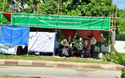 Sacked caddies in Mandalay seek re-employment, back pay