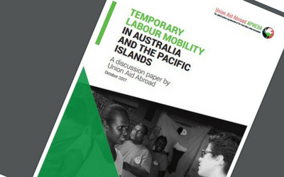 Discussion Paper Launch: Temporary Labour Mobility in Australia and the Pacific Islands