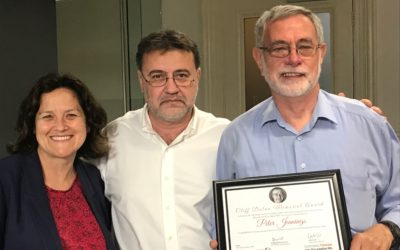 Activists honoured at 2017 AGM