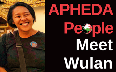APHEDA People: Meet Wulan, Union Aid Abroad's Myanmar Country Coordinator