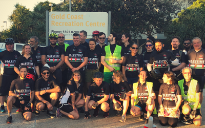 Cycling for Solidarity: Brisbane to Byron Bay for Palestine