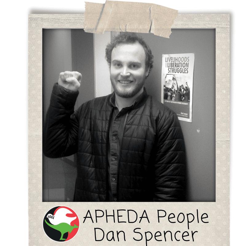 APHEDA People - Dan Spencer