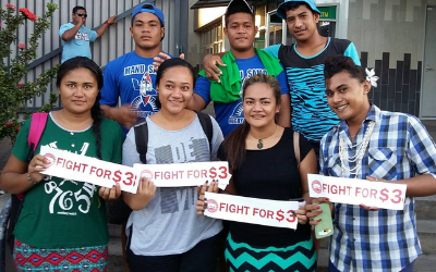 Samoa First Union pushes for a fair minimum wage