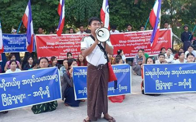 Tharabar Gate Hotel Workers on Strike in Myanmar!