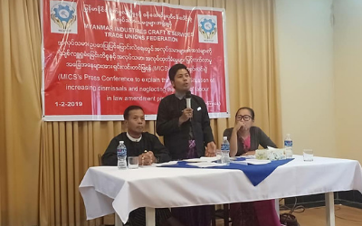 Unions in Myanmar Suspend Participation in the Tripartite Mechanism
