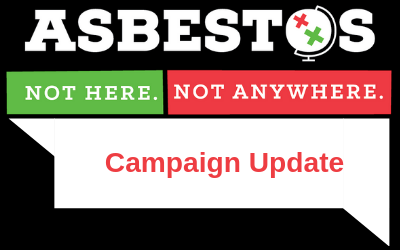 Asbestos Campaign Update – February 2019
