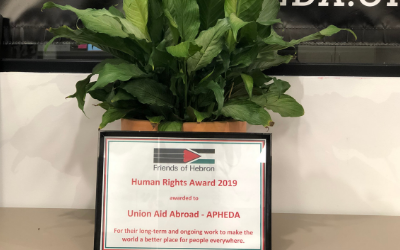 APHEDA honoured with a community-based Human Rights Award