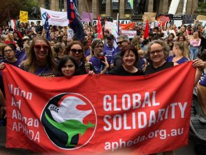 IWD March_8 March 2019_Image by Samantha Bond APHEDA Melbourne