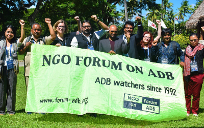 APHEDA takes asbestos campaign to the head of ADB