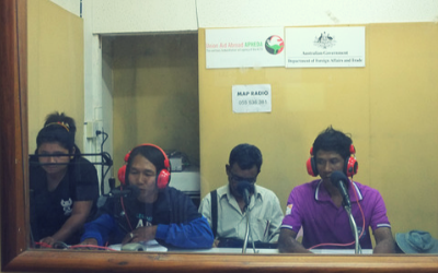 MAP Radio – A lifeline for migrant workers in Thailand