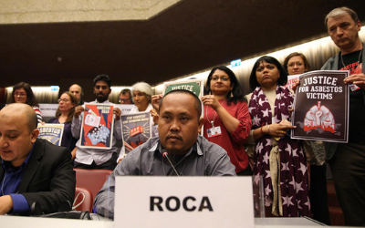 Subono Speaks out at Rotterdam Convention Meeting (CoP9)