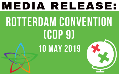 Media Release: Rotterdam Convention (CoP9) – 10 May 2019