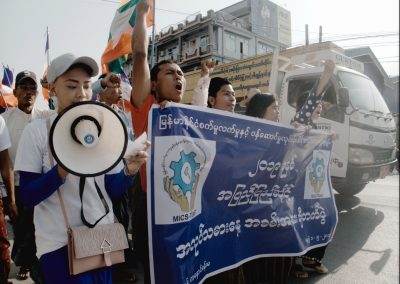 Mandalay May Day Rally 1