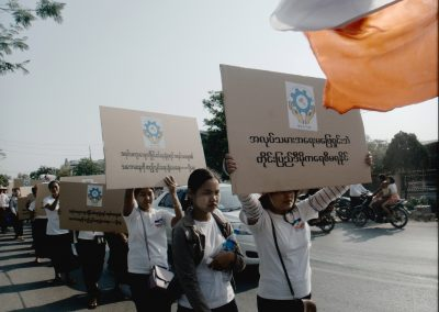 Mandalay May Day Rally 2