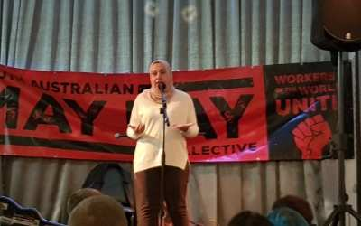 Massive May for Union Aid Abroad activists in South Australia