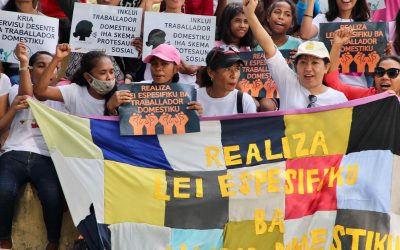 """Workers not slaves!"" – Domestic Workers of Timor Take Demands to Streets"