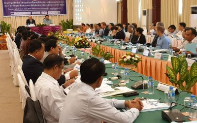 Laos Parliament Meets with World's Leading Asbestos Experts