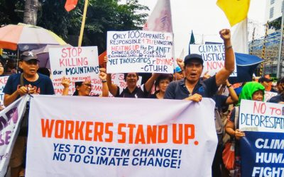 Unions in Asia Join Global Call for Climate Justice