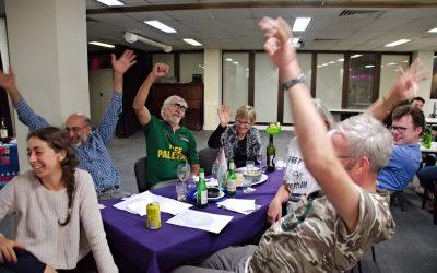 Brisbane Activists Celebrate Global Solidarity at Annual Trivia Night