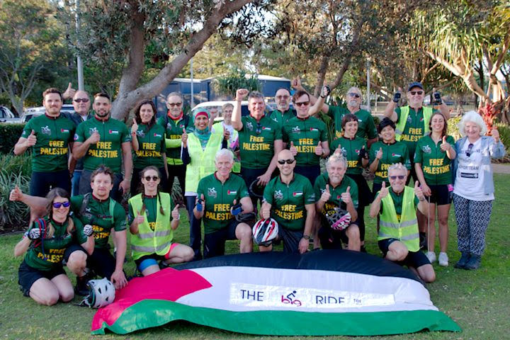 Brisbane Cycles for Solidarity: The 2019 Big Ride for Palestine