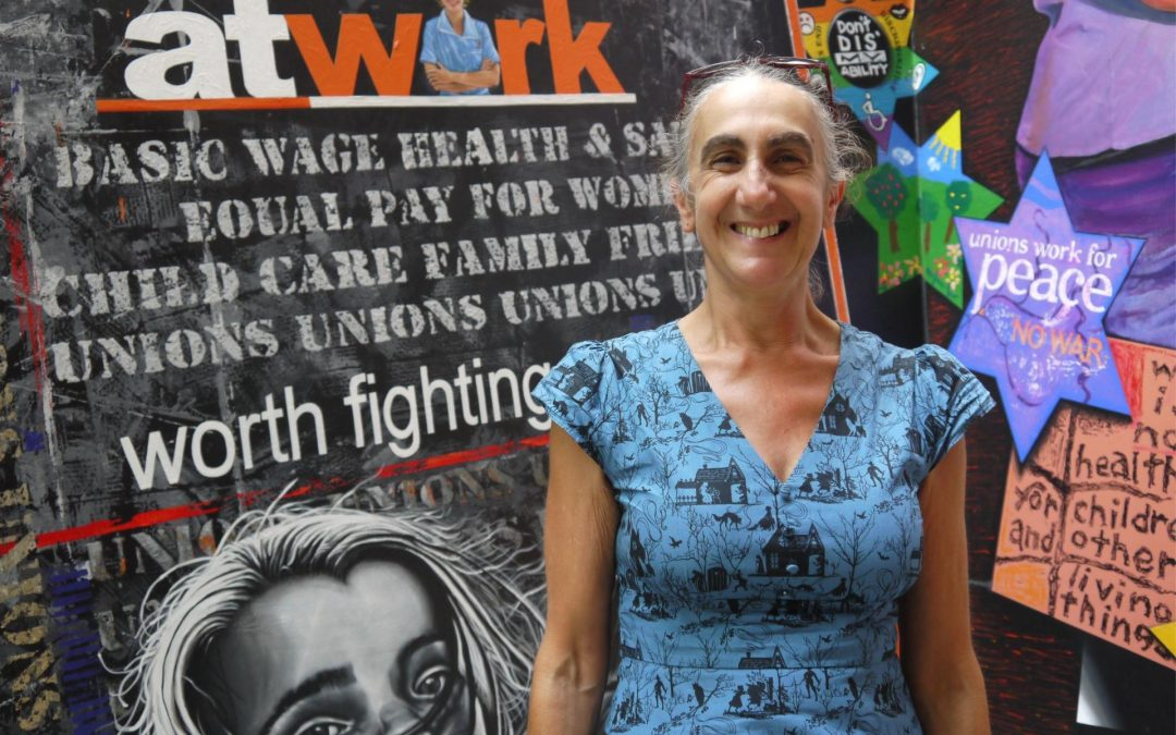 Organising for Climate Action with Steph Cunio – APHEDA People