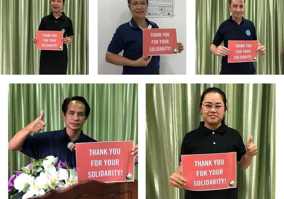 Australian Internationalists Raise $17,000 for Lao Workers Organising Against Exploitation!