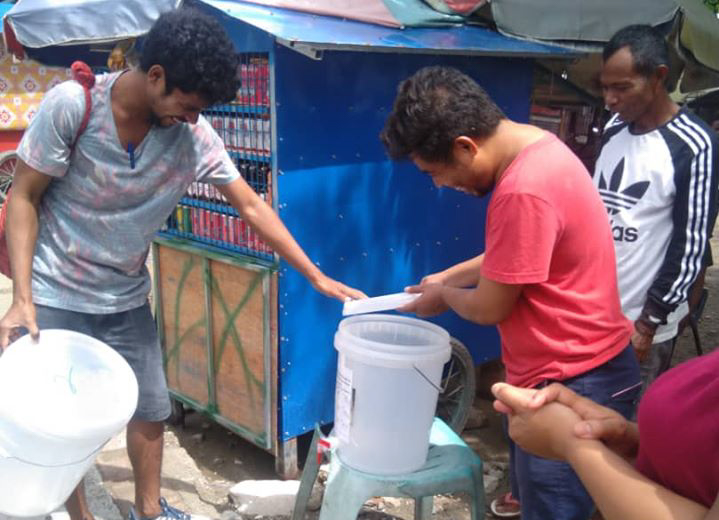 Informal Workers in Timor Leste Take Action to Stop the Spread of Coronavirus