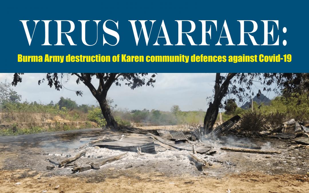 World Refugee Day: Virus Warfare against Karen Refugees