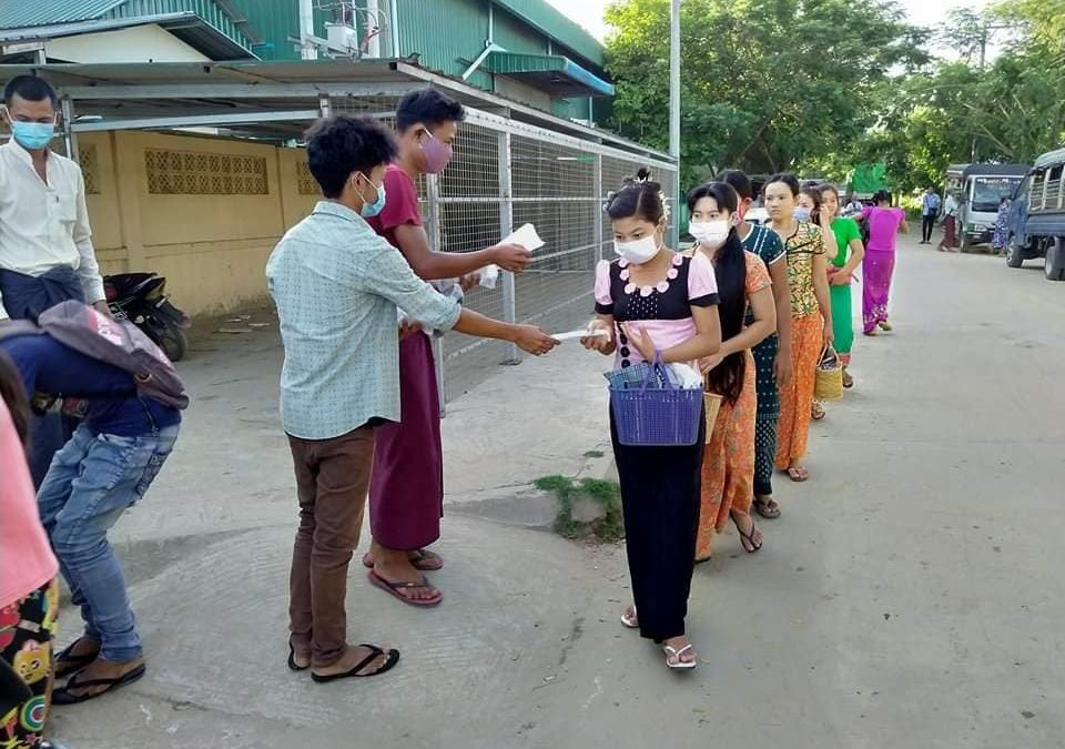 Organising in the time of COVID-19: Update from Myanmar