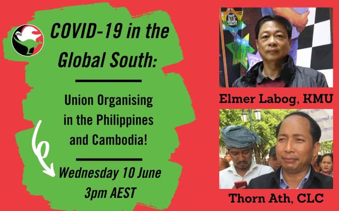 Webinar on Union Organising in Cambodia during COVID-19