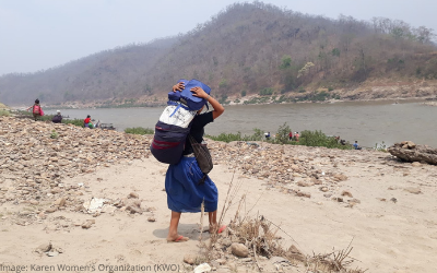 Conflict, COVID-19 and mass displacement on the Thai-Myanmar Border
