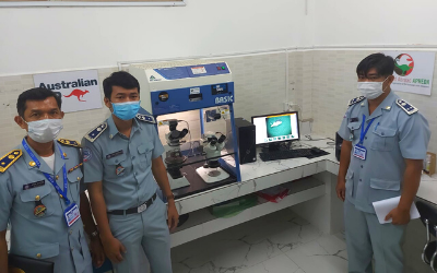 Asbestos campaign progresses in Cambodia despite worsening COVID-19 crisis